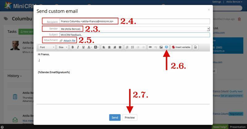 Custom email3