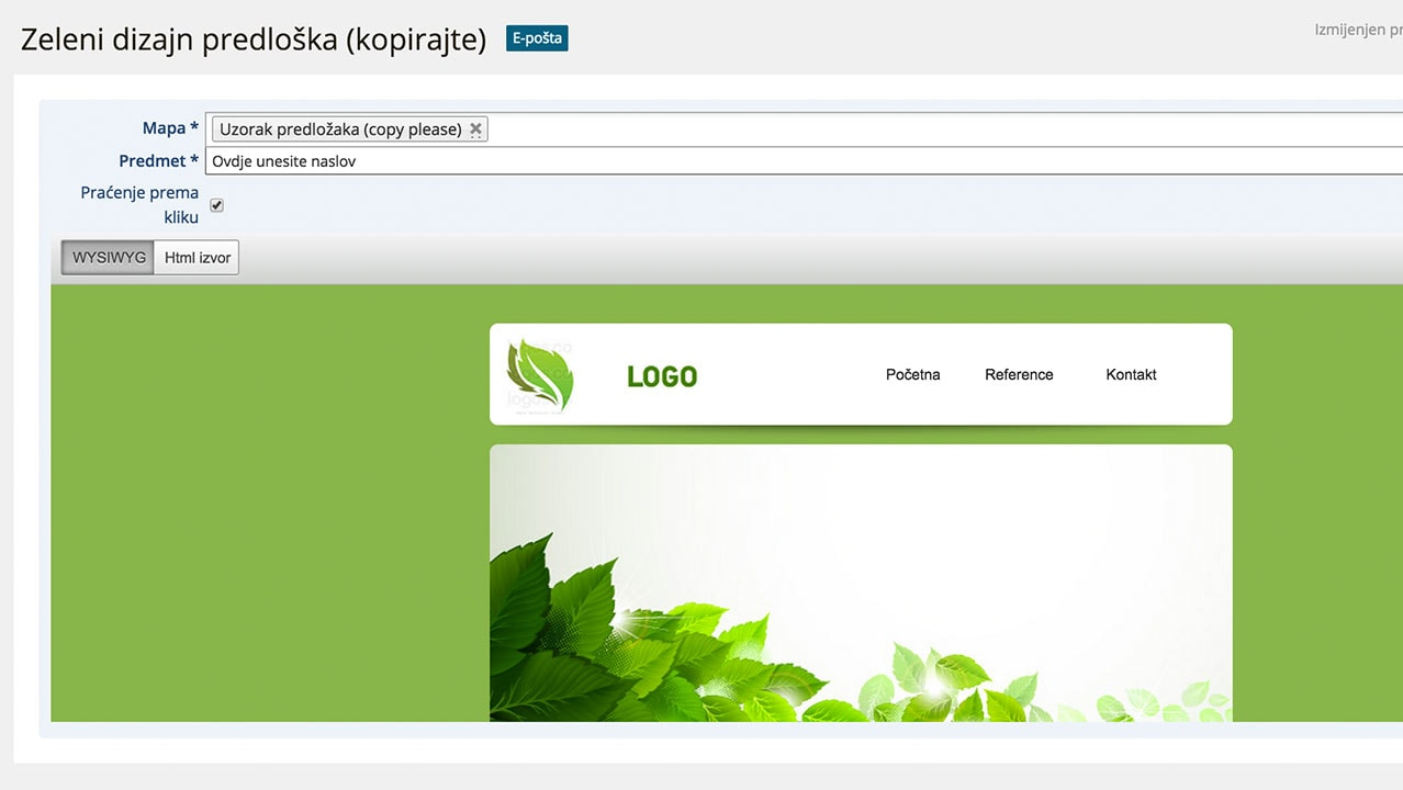 Online uzorci naslova naslova
