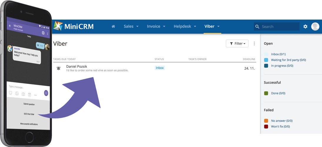 Capture the Vibe in your CRM!